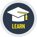 Learn - Graduation Cap Icon